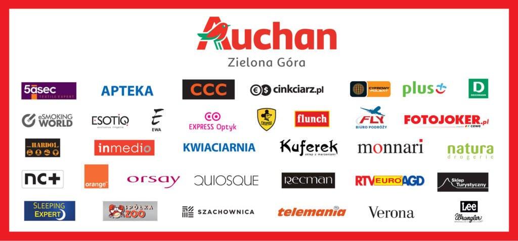 18d717f14aea Centrum Handlowe Auchan dysponuje bezpłatnym parkingiem na ponad 1300  miejsc.